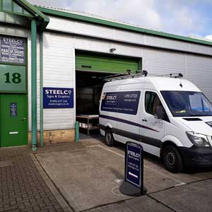 Herts Sign Company Workshop