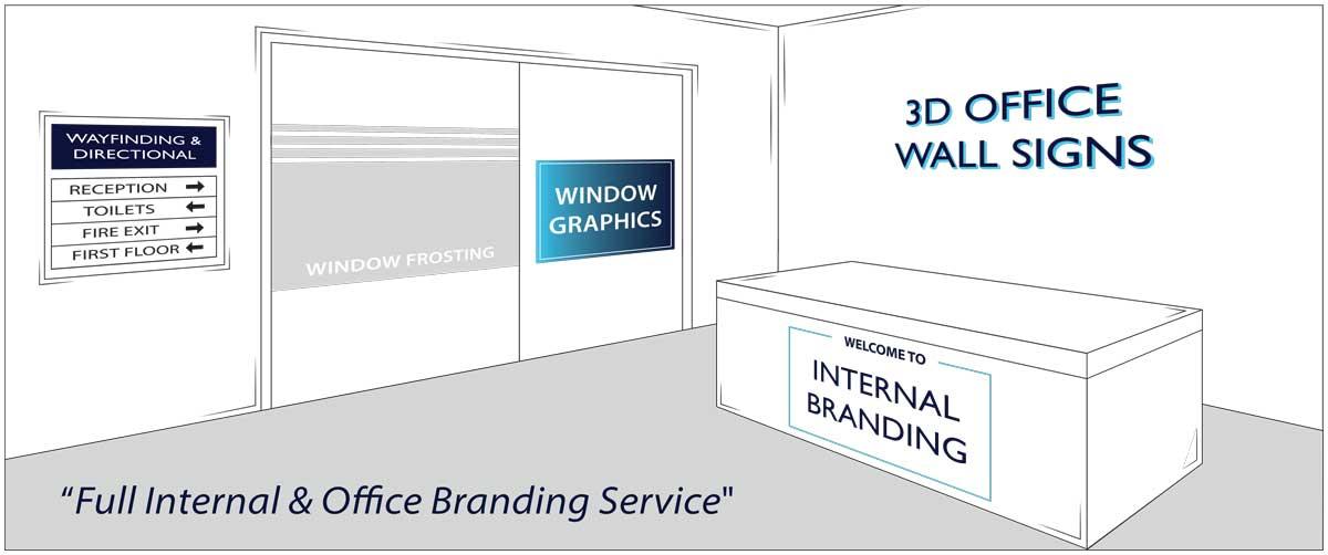 Internal And Office Branding Service