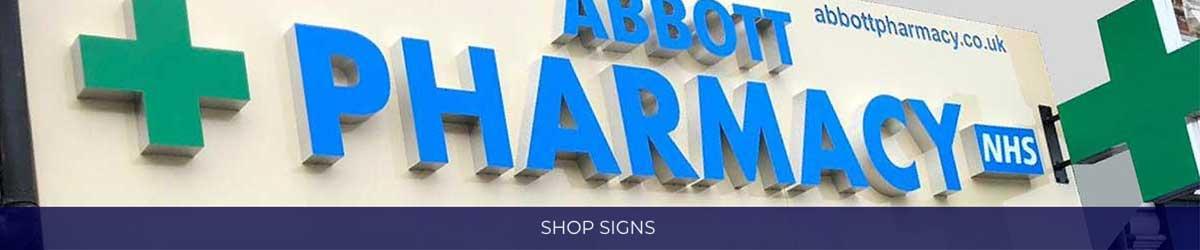 Shop Signs Banner Image
