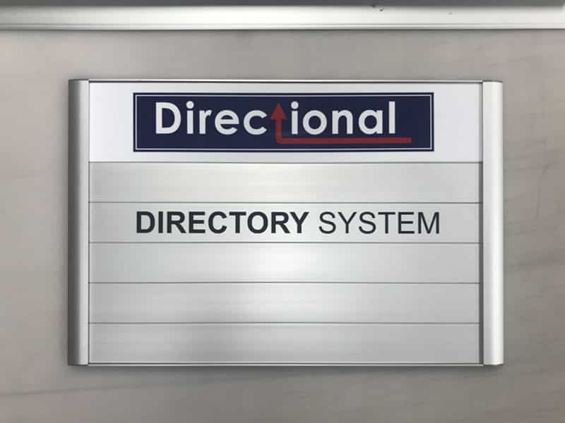 Wayfinding And Directional Signs