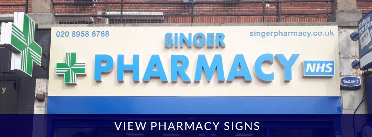 View Pharmacy Signs