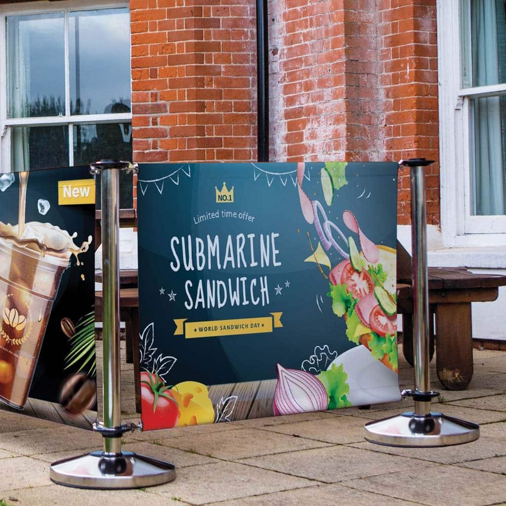 Cafe Barrier Hertfordshire 1
