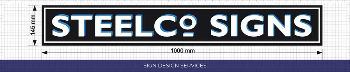 Steelco Signs Dimensions New