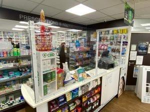 Pharmacy Protective Screen