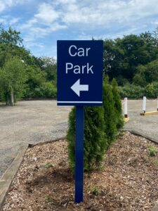 Directional Sign Essex