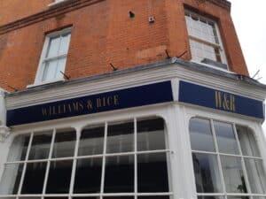 Hairdressers Sign Hertfordshire